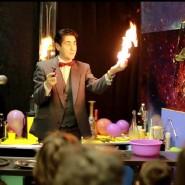 Шоу «Магия огня» в музее «Интеллектус» фотографии