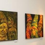 Выставка произведений в технике горячего батика - Виталия Шаповалова. фотографии