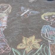 Конкурс рисунков на асфальте «Детство — это ты» фотографии