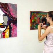 Выставка Ленара Ахметова «Они такие разные» фотографии