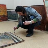 Выставка Руслана Магалимова «Сцена в картине» фотографии