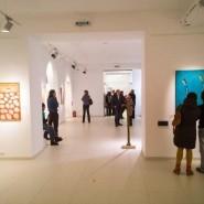Выставка художников галереи «Мирас» фотографии