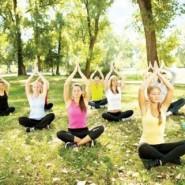 Йога по утрам фотографии