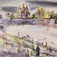 Выставка Юрия Бердышева «Акварель для души» фотографии