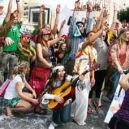 Городской праздник «День хиппи» фотографии