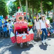 Десятый юбилейный Парад колясок - 2018 фотографии