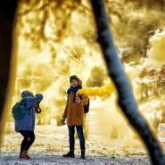Фестиваль цветного дыма фотографии