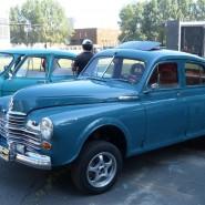 Выставка ретро - автомобилей фотографии
