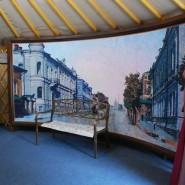 Уличная театральная акция «Галерея пушкинских героев» фотографии