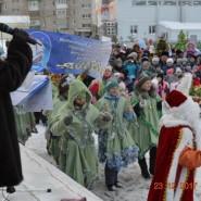 Парад Дедов Морозов фотографии