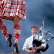 Отрытый урок Шотландских танцев фотографии