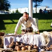 Средневековая ярмарка «День яблок». фотографии