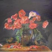 Выставка художников Ю. Куклиной и А. Ванзина «Впечатление времени в красках» фотографии