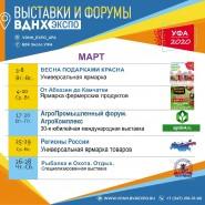 Выставки на ВДНХ ЭКСПО УФА в марте фотографии