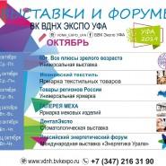 Выставки на ВДНХ «ЭКСПО УФА» в октябре фотографии