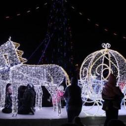 Конкурс Ледяных скульптур «Сказочная аллея»
