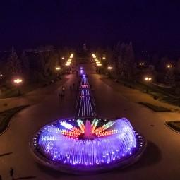 Открытие фонтанов - 2019
