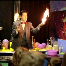 Шоу «Магия огня» в музее «Интеллектус»
