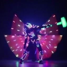 Светодиодно-лазерное шоу «Космическое путешествие на планету Электра»