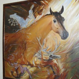 Выставка художника-живописца Фината Набиуллина