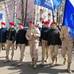 Праздничная демонстрация в Уфе!
