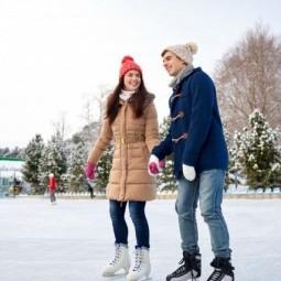 «День влюблённых на коньках» на «Акбузате»
