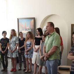 Выставка «Учитель и ученики» памяти художника Н. М Супруна