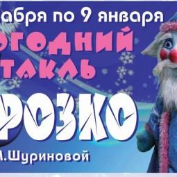 Представление у Новогодней ёлки и спектакль «Морозко»