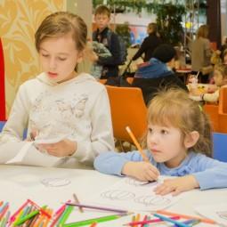 Дети играют в «Планете»: программа детского клуба на январь