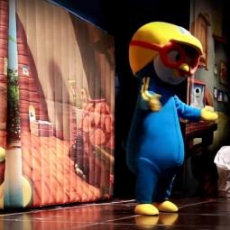 Спектакль ростовых кукол «Пингвиненок Пороро и друзья»