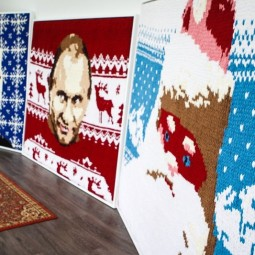 Выставка «Триипостасный свитер»