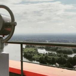 Смотровая площадка на крыше ТРЦ «Планета»