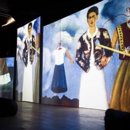 Мультимедийная выставка «Фрида Кало — Ожившие полотна».
