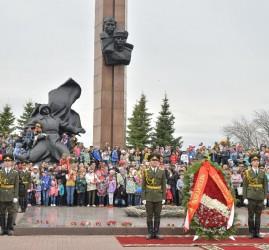 Празднование 76-й годовщины Победы