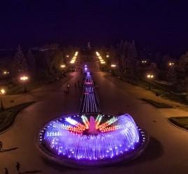 Открытие фонтанов - 2021