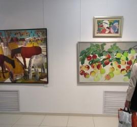 Выставка художников галереи «Мирас»
