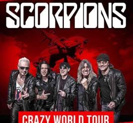 Концерт группы «Scorpions» — «Crazy World Tour»
