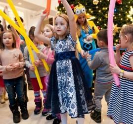 Детские Новогодние утренники в ТРЦ «Планета» и почта Деда Мороза