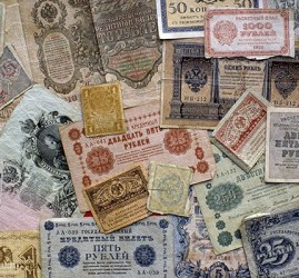 Выставка «История денег России»