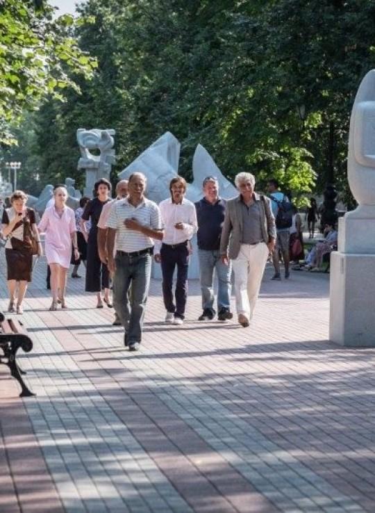 Аллея современной скульптуры «ArtTerria»