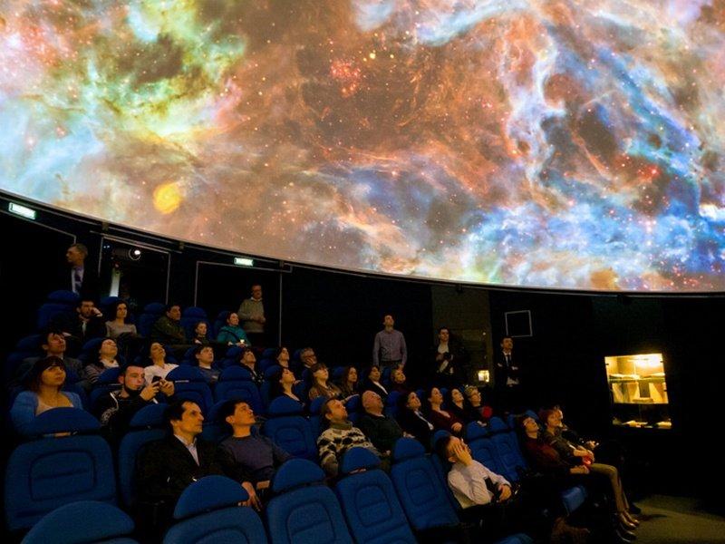 Всемирная «Неделя космоса» вУфимском планетарии