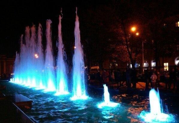 Открытие фонтанов— 2017