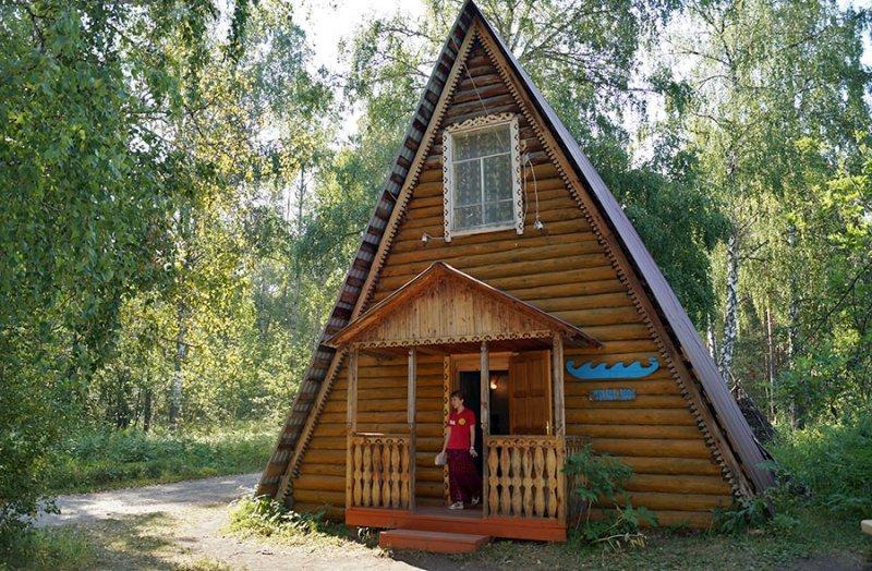 Село Кага иСвято-Никольская церковь