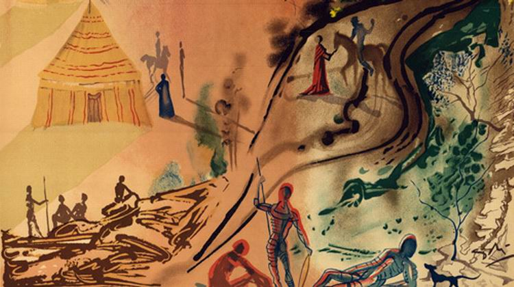 Выставка «Рапсодия страсти. Сальвадор Дали & Пабло Пикассо»