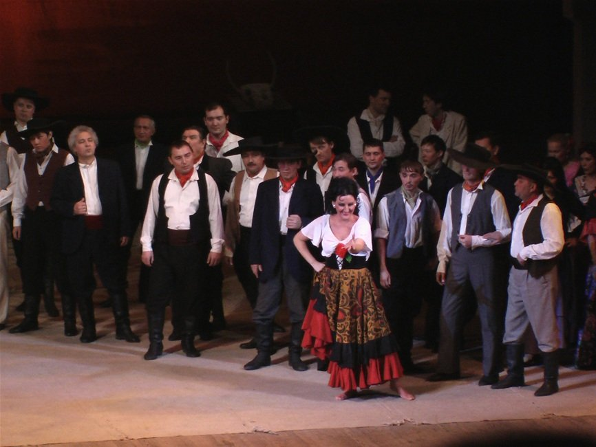 Премьера оперы «Кармен»