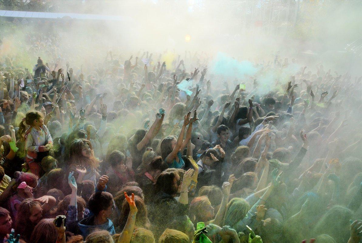 Фестиваль красок вУфе