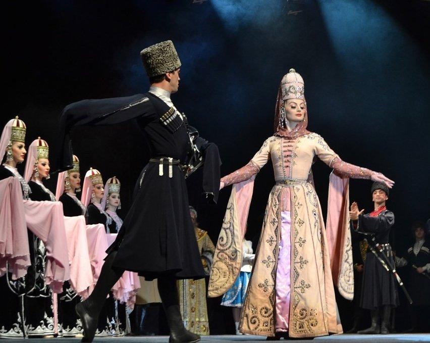 Концерт ансамбля танца «Кабардинка»