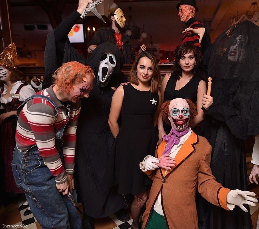 Вечеринки встиле Halloween взаведениях Уфы