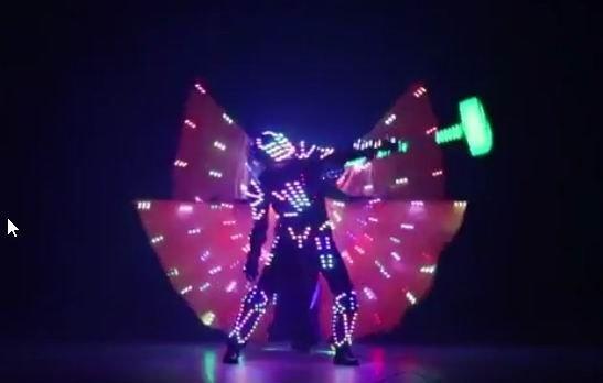 Светодиодно-лазерное шоу «Космическое путешествие напланету Электра»