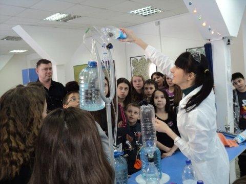 Открытие Музея «Интеллектус» вТЦ «Южный Полюс»